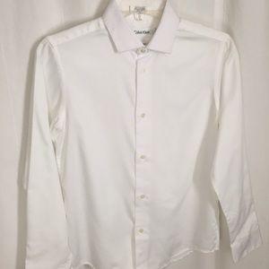 Calvin Klein boys Sz 14 dress shirt